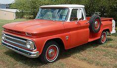 Chevy Stepside, C10 Chevy Truck, Chevrolet Trucks, Gm Trucks, Pickup Trucks, Classic Trucks, Old Cars, Antique Cars, Automobile
