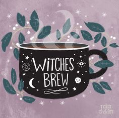 Sheldon Illustration Witches Brew - Robin Sheldon {illustration & design} Been in a witchy mood lately. Is it October yet?Witches Brew - Robin Sheldon {illustration & design} Been in a witchy mood lately. Is it October yet? Inspiration Art, Art Inspo, Illustrations, Illustration Art, Coffee Illustration, Halloween Playlist, Creation Art, Drawn Art, Modern Witch