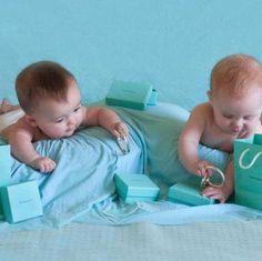 You're never too young to get that little blue box