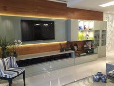 Sala AK: Salas de estar modernas por A3 Arquitetura