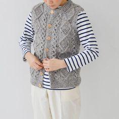 athena designs light gray vest