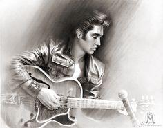 Elvis Presley Art Works