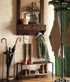 Small Entryway Ideas & How to Decorate a Small Entryway | Pottery Barn