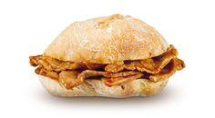 Bifanas - Portuguese pork sandwich, fingerlicking good!