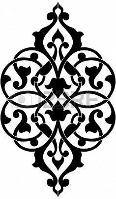 Decorative design element, vector file, Monochrome Stock Photo - 24306506