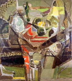 Still Life, Easter Morning, 1935 by Ivon Hitchens. © The Estate of Ivon Hitchens. All rights reserved. DACS Photo: Jonathan Clark & Co. Abstract Flowers, Abstract Art, Abstract Faces, Modern Artists, Types Of Art, Contemporary Paintings, Urban Art, Landscape Art, Still Life
