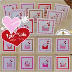 Love Notes Valentines Cards by Courtney