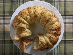 Rosemary Garlic Pull Apart Bread