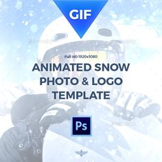 Animated glitch photoshop template fashion photo templates buy animated gif snow template by bagd on graphicriver features loop animation easy editable size you can change it organized layers with smart object maxwellsz