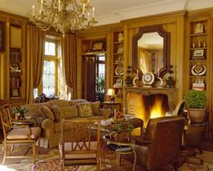 Inviting room with an abundance of details