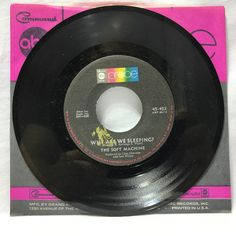The Soft Machine Joy Of A Toy / Why Are We Sleeping 1969 Single ABC Probe 45 452