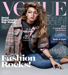 Gigi Hadid by Alique for Vogue Netherlands November 2015