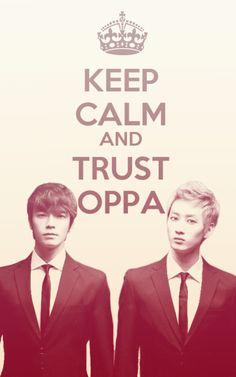 Donghae and Eunhyuk~ Oppa Oppa