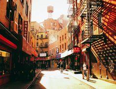 NYC. Doyers St., Chinatown // Vivienne Gucwa
