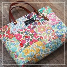 Liberty Betsy's Patch Work Petit Bag Bag In Bag, Outside for Lunch, Walk with Dogs!