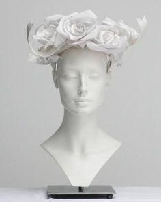 stunning paper hats created by Katsuya Kamo