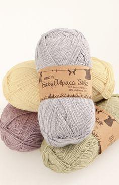 DROPS BabyAlpaca Silk colour chart ~ DROPS Design