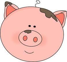 pig face clip art pig face image clipart love pinterest face rh pinterest com Pig Face Outline Clip Art pig face clip art black and white