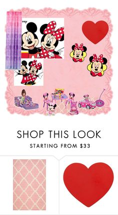 """""""Disney Junior"""" by julia-clv ❤ liked on Polyvore featuring interior, interiors, interior design, home, home decor, interior decorating and nuLOOM"""