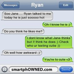 Page 104 - Relationships - Autocorrect Fails and Funny Text Messages - SmartphOWNED