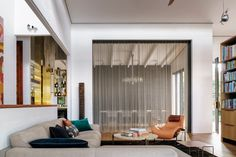 INTERIORS STUDIO — ALWILL Architect House, Contemporary Design, Curtains, Interior Design, Studio, Architecture, Interiors, Furniture, Home Decor