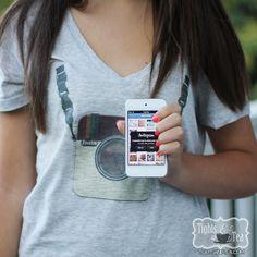 Printable: Camera Shirts (PDFs + photoshop tutorial) | Tights and Tea