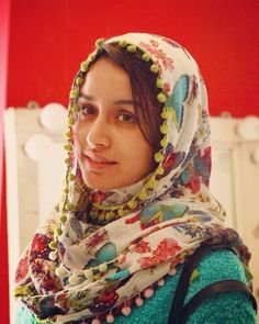 #Throwback #Haider Costume trials ❤️ #Arshia.. Shraddha Kapoor