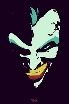The Joker (occasionally using the pseudonym 'Joseph Kuhr') Dc Comics, Comic Art, Comic Books, In The Pale Moonlight, Jokers Wild, Chibi, Joker Art, Joker And Harley Quinn, The Villain