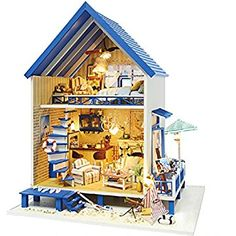 Glorious Handmade Furniture Doll House Diy Miniature House 3d Wooden Miniaturas Dollhouse Toys Christmas House And Birthday Gift Z009 Toys & Hobbies Architecture/diy House/mininatures