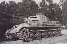 Tiger II Ausf. B (turret num. 222) of schwere SS Panzer-Abteilung 501.