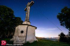 https://flic.kr/p/rT3f19 | Croce Monte Fenera | Panorama notturno