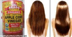 Wash Your Hair With Apple Cider Vinegar