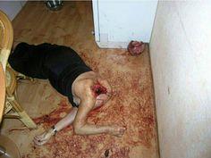 Head is choped off Muslim Love Not