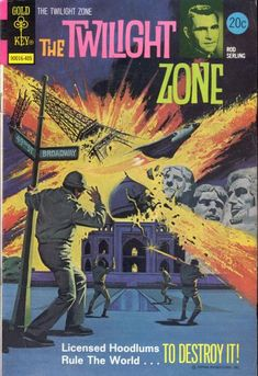 Cover for The Twilight Zone (Western, 1962 series) #56