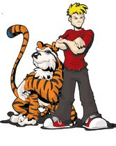Don't really like this.  Calvin is not a thug.