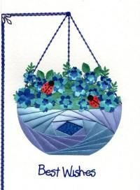 C5 Iris Folding Pack Bowl/Hanging Basket - seems like I'm always in need of a bowl template these days