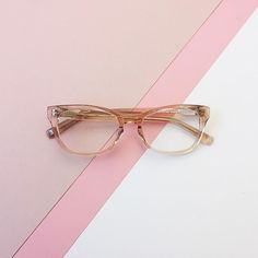Finch in Bellini from the Warby Parker Spring 2016 collection.
