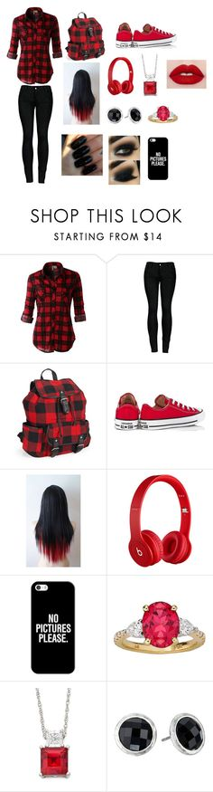 """""""#42"""" by vampire467 ❤ liked on Polyvore featuring LE3NO, 2LUV, Aéropostale, Converse, Floss Gloss, Beats by Dr. Dre, Casetify and The Sak"""