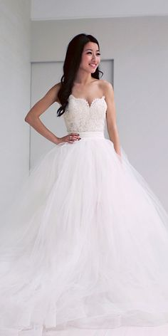 ddbbb72e5 30 Simple Wedding Dresses For Elegant Brides. Vestidos De Novia Juveniles Vestidos Largos Para ...