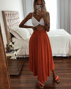 Cute Casual Outfits, Boho Outfits, Stylish Outfits, Summer Outfits, Fashion Outfits, Looks Hippie, Moda Hippie, Boho Fashion, Fashion Looks