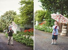 Meet the Barneys, family photo ideas, family photography, rain photo, family