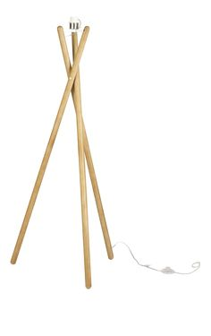 Lansbury II Stehleuchtenfuß aus Holz Diy Floor Lamp, Wooden Floor Lamps, Wooden Lamp, Lampshade Designs, Ideias Diy, Brass Lamp, Diy Craft Projects, Design Crafts, Home And Living