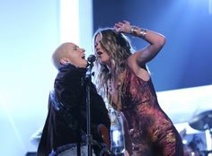 "Melissa Etheridge and Joss Stone proved anything can be done with a little bit of soul as they joined for a tribute to the late Janis Joplin at the 47th GRAMMY Awards in 2005. Stone began with a cover of ""Cry Baby"" before Etheridge made a brave comeback to perform ""Piece Of My Heart"""