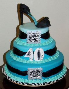 Birthday Cake Pictures For 40 Year Old Woman : 1000+ images about 40th birthday on Pinterest 40th ...
