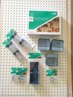 How to create a Back to school peg board organization wall w/National Hardware