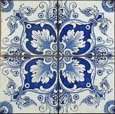 Tile Patterns, Textures Patterns, Waterline Pool Tile, Clay Tiles, China Painting, Tile Art, Hobbies And Crafts, Background Patterns, Pottery Art