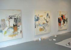 artist studio, Robert Kingston