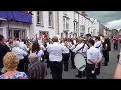Dunston Band Durham Miners Gala 2015 Gresford - YouTube