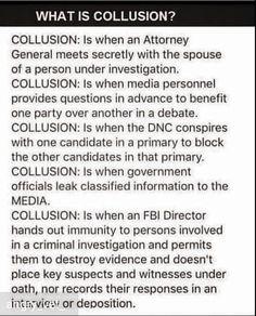 Collusion facts
