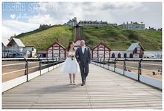 Images from Natalie and Michael's seaside wedding at Saltburn Spa Hotel, Saltburn. Seaside Wedding, Seaside Towns, Hotel Spa, Weddings, Building, Photography, Travel, Inspiration, Image